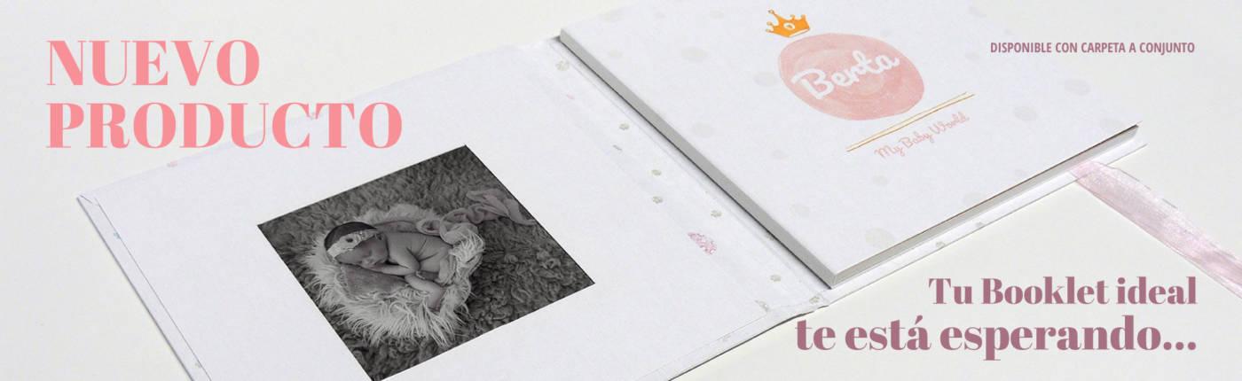 Booklet para recuerdos de un bautizo de SinfoDigital, Laboratorio Fotográfico Profesional