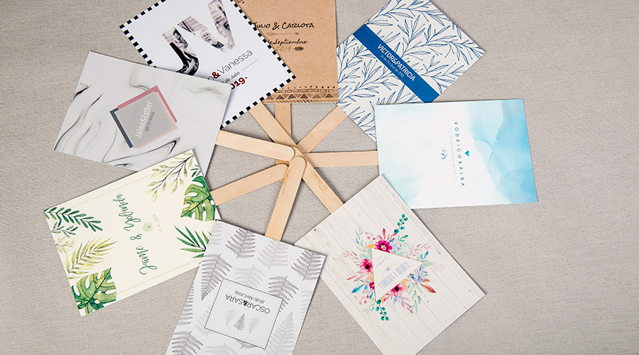 Colecciones de papelería para bodas con estilo